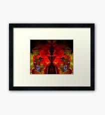 Abstract Jello  Framed Print
