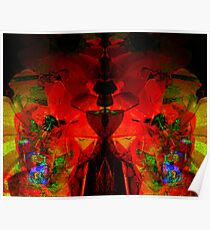 Abstract Jello  Poster