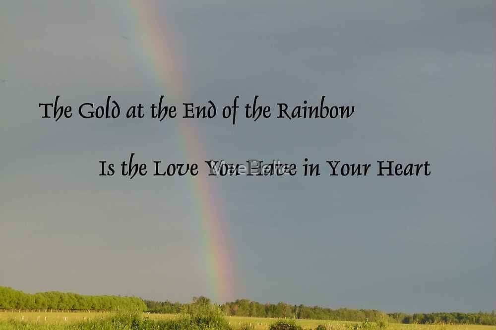 Gold at The End of a Rainbow by MaeBelle