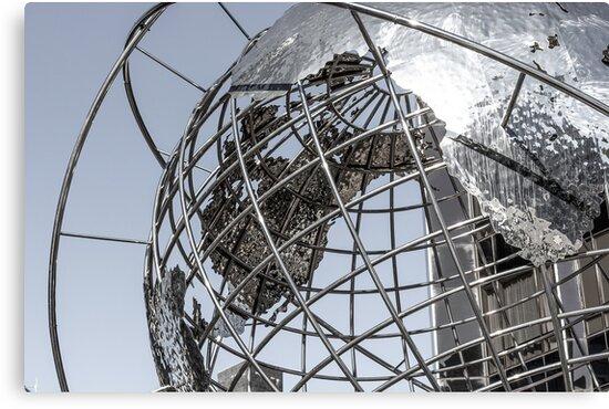 Industrial Globe by Max Kalinowicz