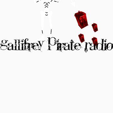 Gallifrey Pirate Radio Flag Logo by jackzodiac