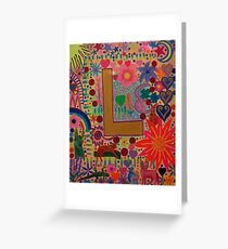 Initial L Greeting Card