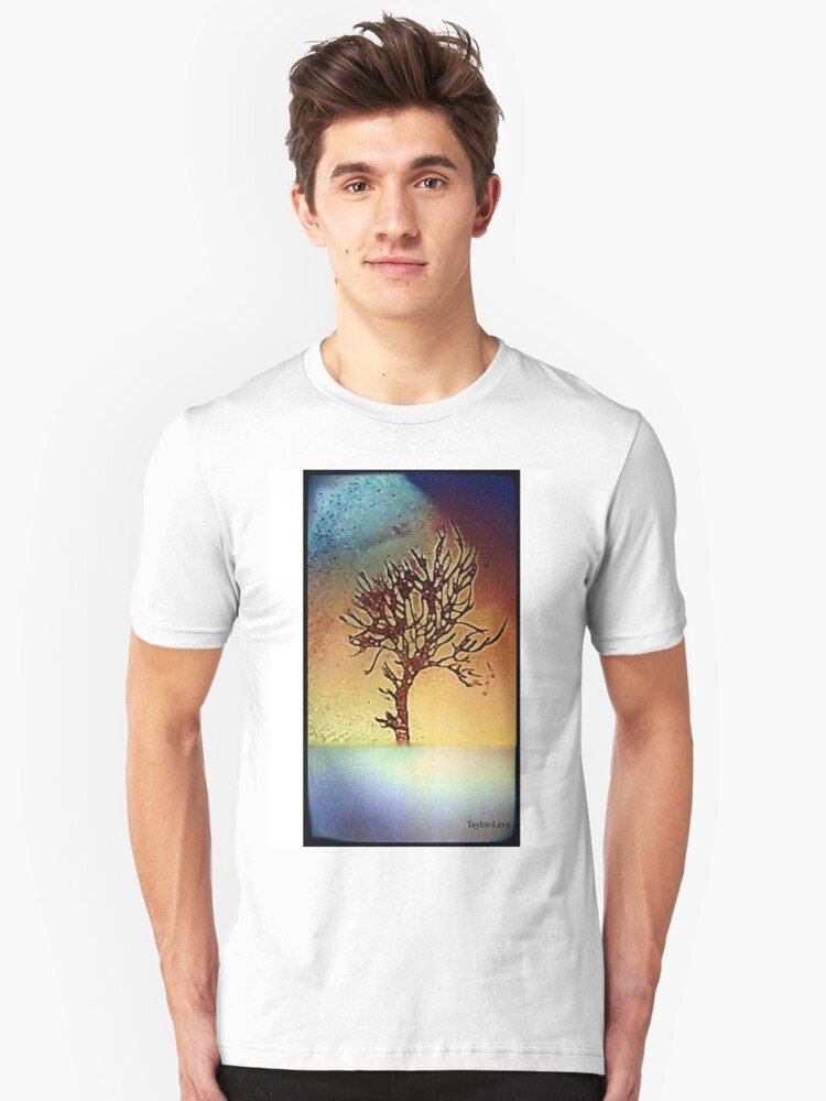 Abstract tree design Unisex T-Shirt Front