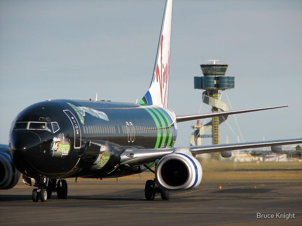 "Virgin Blue ""Mach 3"" Boeing 737 by Bruce Knight"