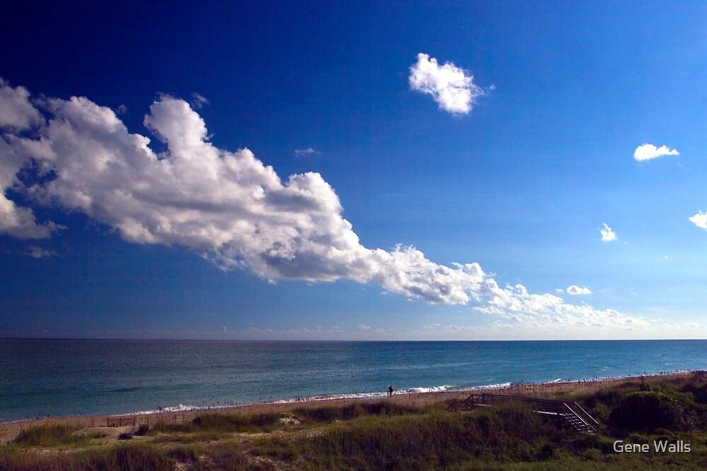 Carolina Coastline Clouds by Gene Walls