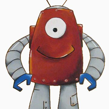 Bernie the Robot by london821