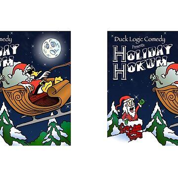 Holiday Hokum CD Cover MUG - Duck Logic by Dave-id