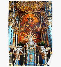 High Altar Pilgrimage Church Hohenpeissenberg Poster
