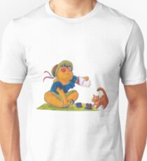 Picknick cat Unisex T-Shirt