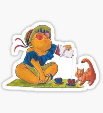 Picknick cat Sticker