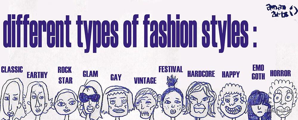 fashion by amanarts