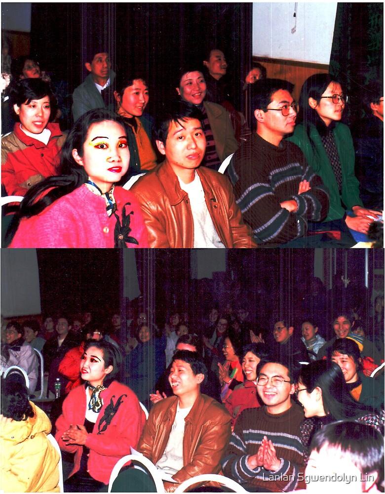 Combien que je suis beaux, heureux, content, parfait, joli, enchante, ivre, travailleur, saga, tant mieux, fier, cueillant, remarquable toujours a IOP, CAS, Beijing a 1998.Merci! by Lanlan Sgwendolyn Lin