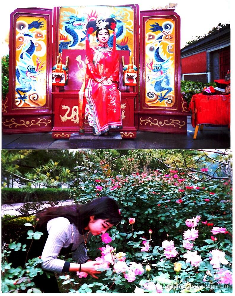 Combien que je suis beaux, heureux, content, parfait, joli, enchante, ivre, travailleur, saga, tant mieux, fier, cueillant, remarquable toujours a IOP, CAS, Beijing a 1997. Merci! by Lanlan Sgwendolyn Lin