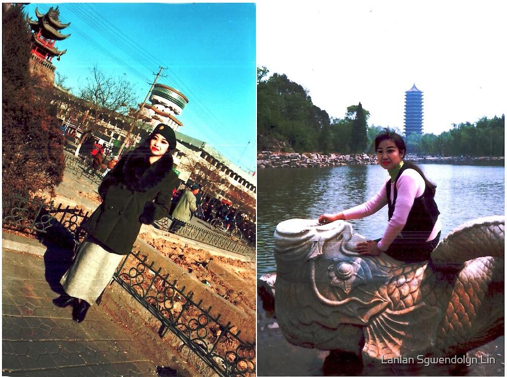 Combien que je suis beaux, heureux, content, parfait, joli, enchante, ivre, travailleur, saga, tant mieux, fier, cueillant, remarquable toujours a IOP, CAS, Beijing a 1998 Merci! by Lanlan Sgwendolyn Lin