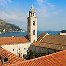 The Dominican Monastery in Dubrovnik by kirilart