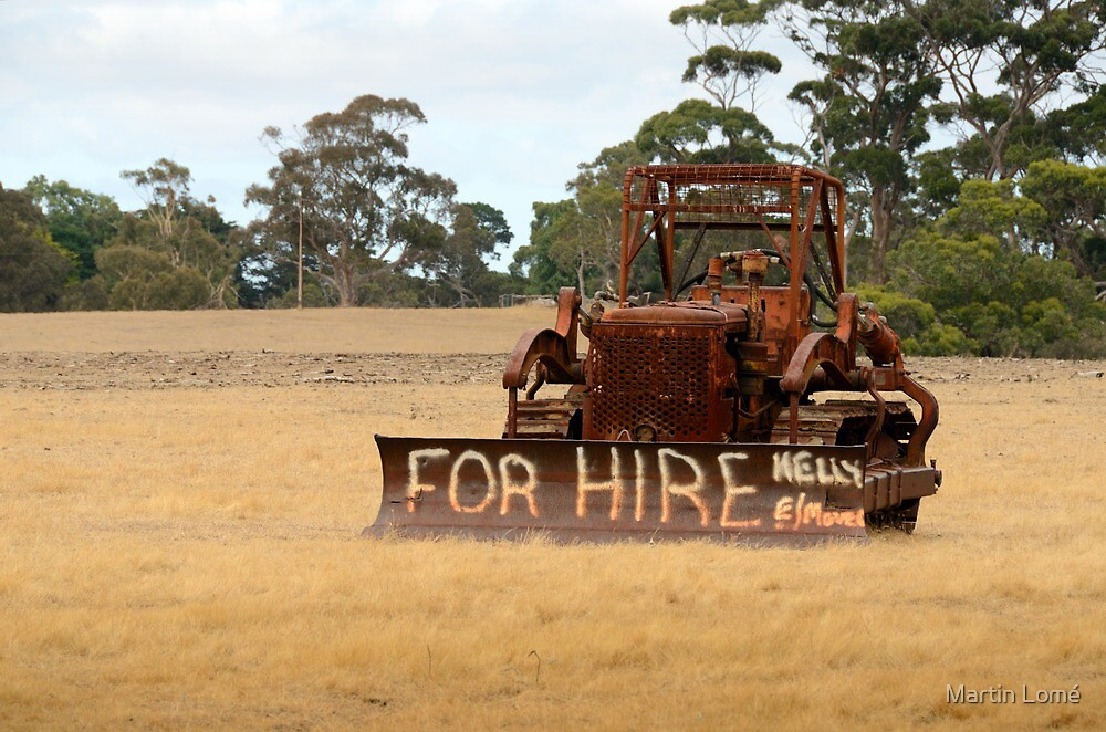 For Hire, Kangaroo Island, South Australia by Martin Lomé
