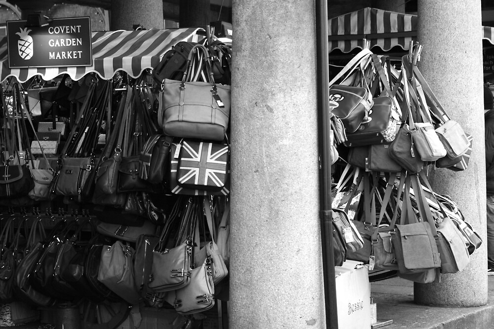 Covent Garden Market Bag Stall by groggits