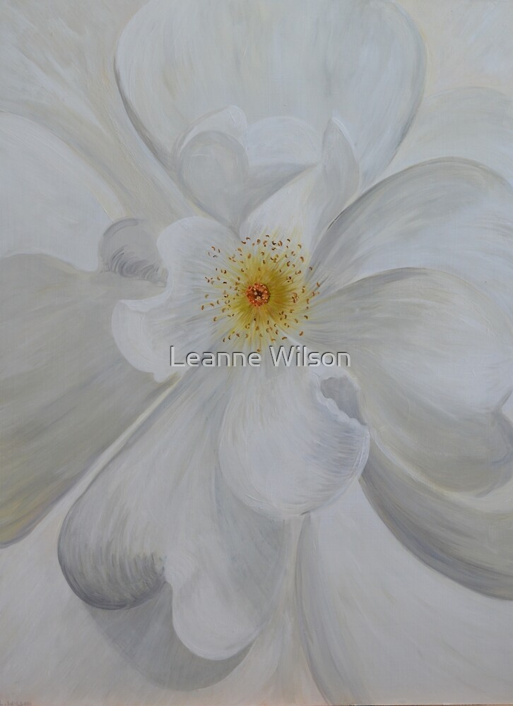 White Rose by Leanne Wilson