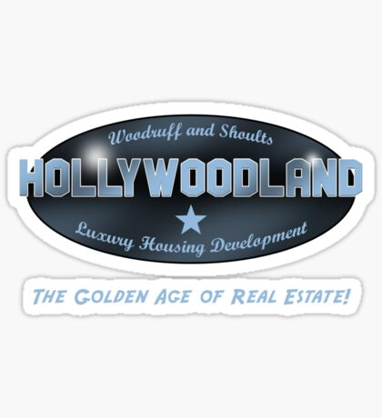 Hollywoodland Sticker