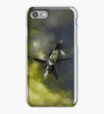 Stranded Space Craft Painting iPhone Case/Skin