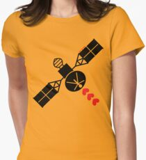 Love Satellite Womens Fitted T-Shirt