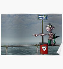 Sea Monkeys are Proper Stupid Creatures Poster