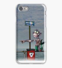 Sea Monkeys are Proper Stupid Creatures iPhone Case/Skin
