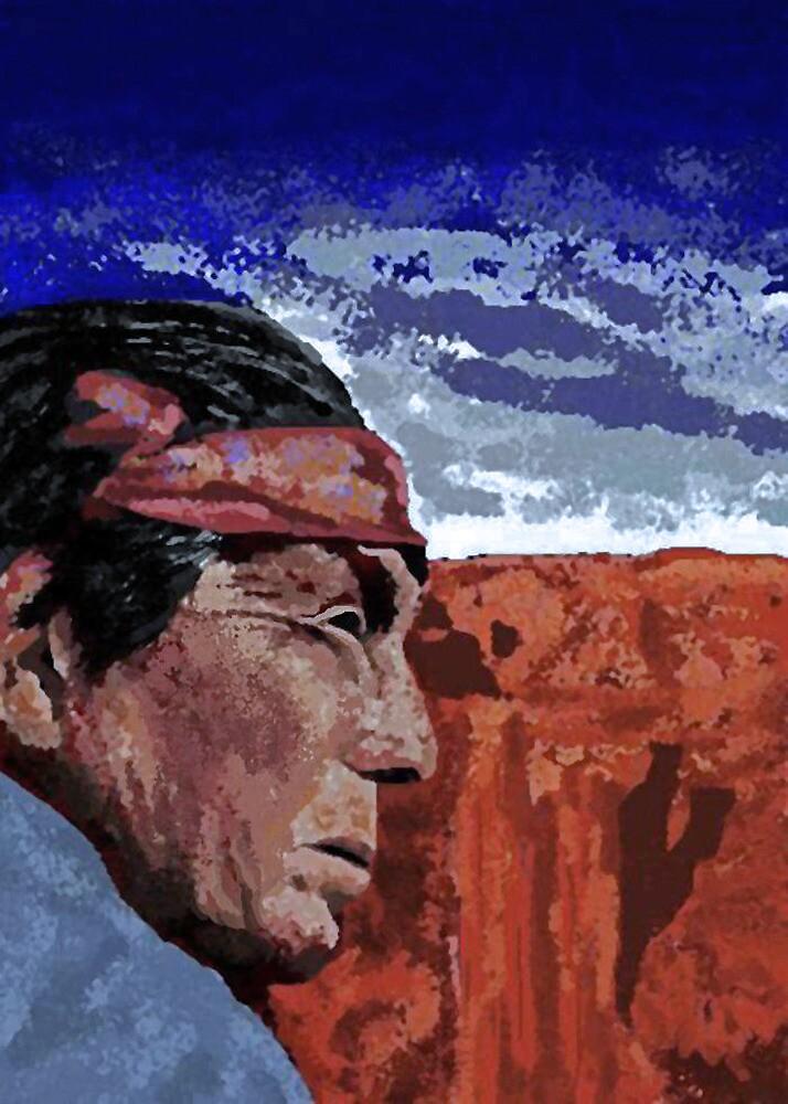 Navajo Shaman by Carole Boyd