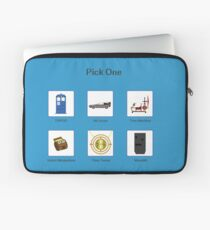Pick Your Mode Laptop Sleeve