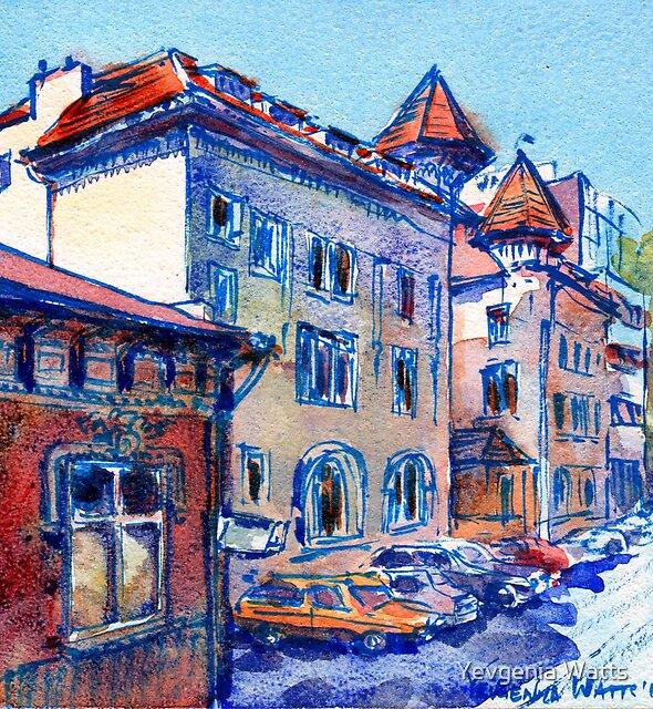 Bucharest, Romania by Yevgenia Watts
