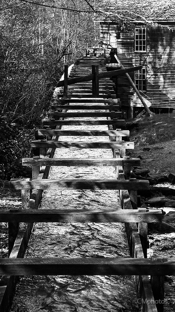 Old Mingus Mill, NC by CMphotos