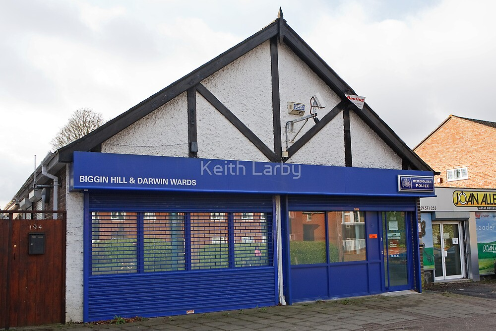 Police Shop Biggin Hill Kent by Keith Larby