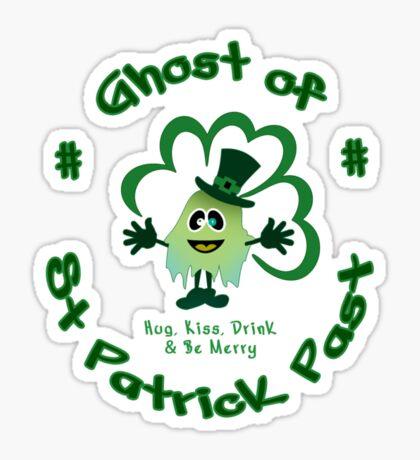 Ghost of St Patrick Past VRS2 Sticker