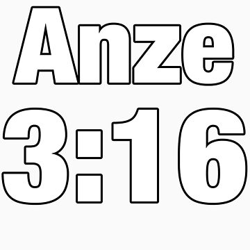 Anze 3:16 by Hockeywood