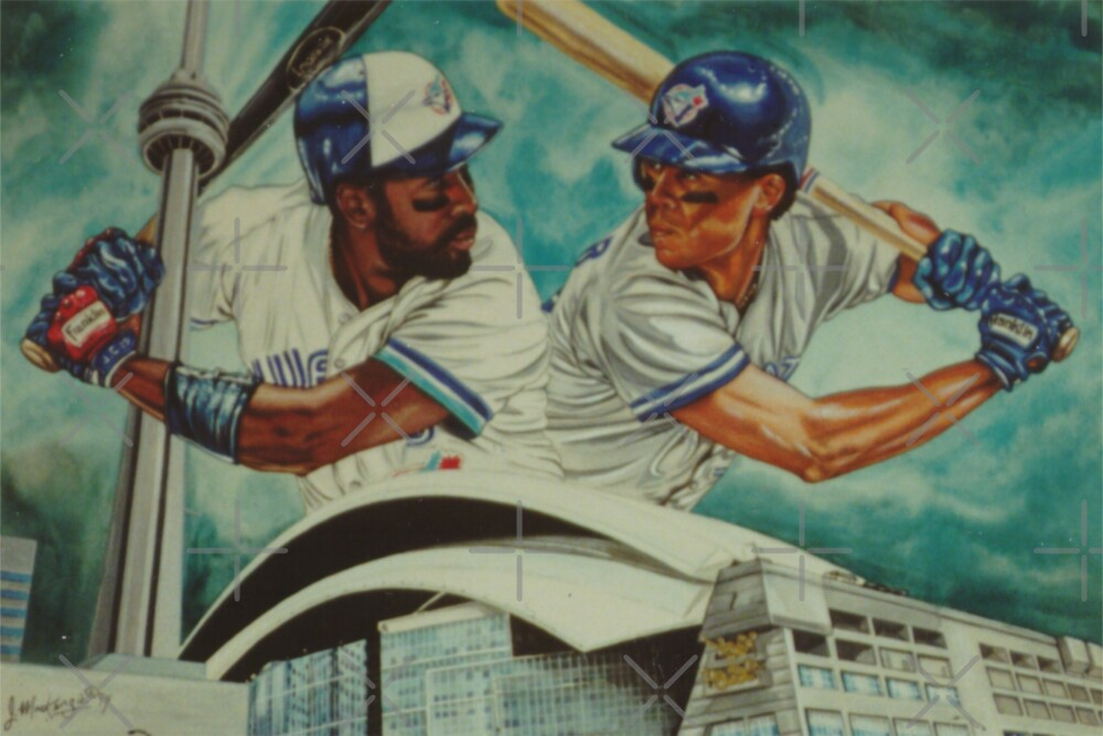 Carter and Alomar by JohnnyMacK