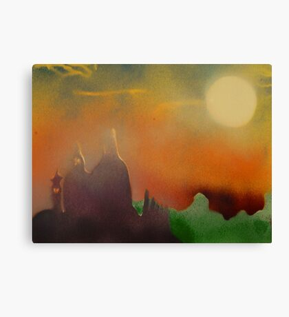 Cathedral in evening sun Canvas Print