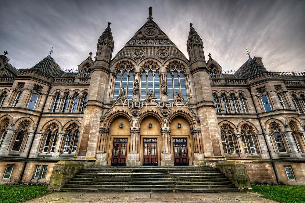 Nottingham University - Arkwright Building by Yhun Suarez