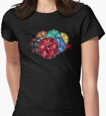 Die! Die! Die! Womens Fitted T-Shirt