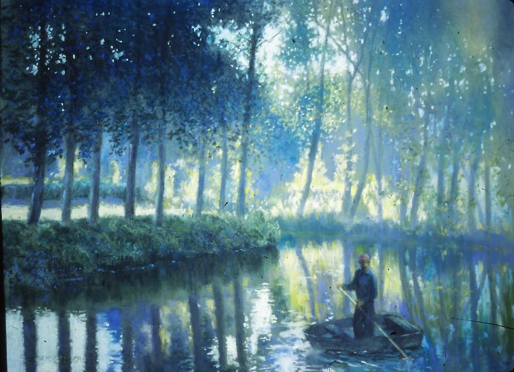 The Fisherman by Howard Scherer