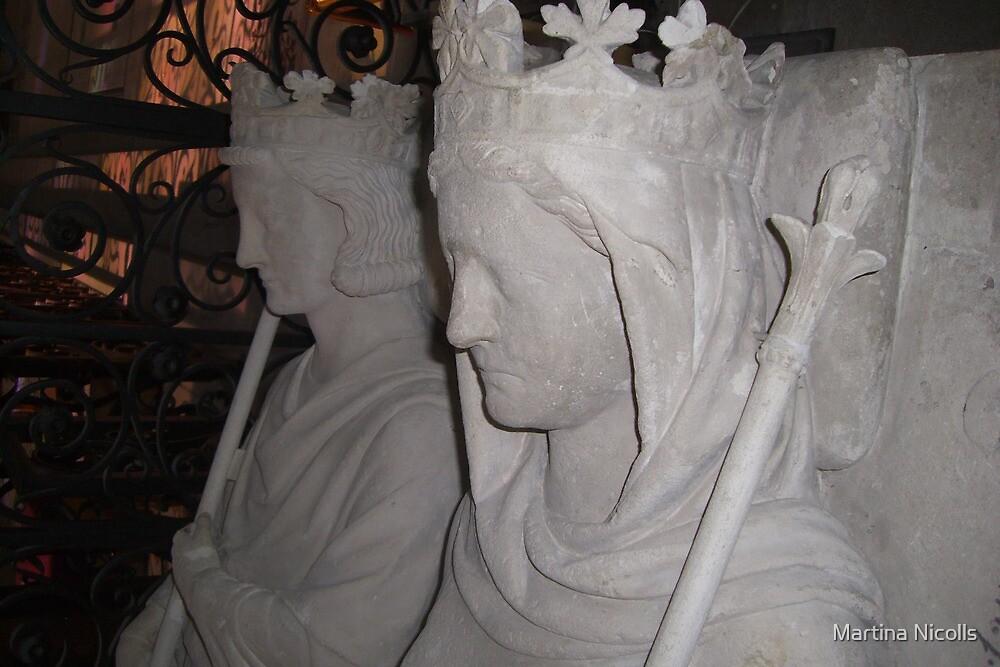 Two faced, Saint Denis, Paris by Martina Nicolls