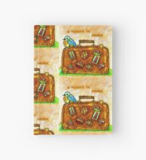 A Sojourn is Needed Hardcover Journal
