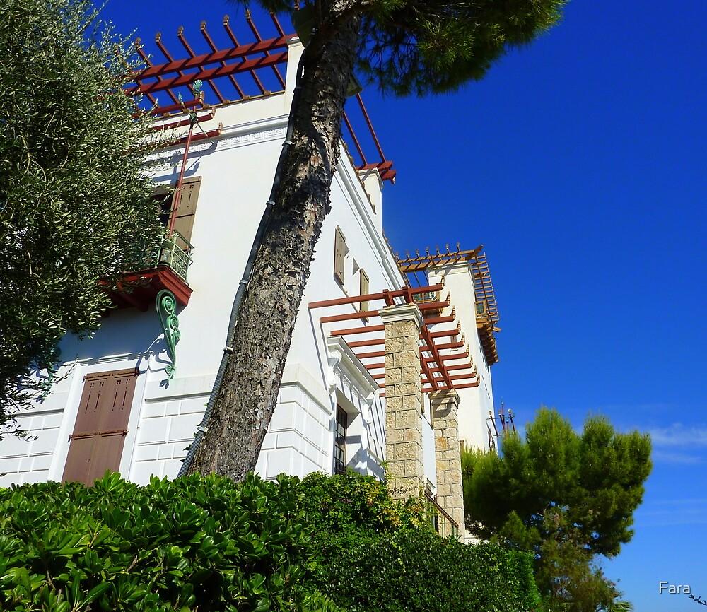 Outside The Villa by Fara