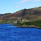 Eilean Donan Across the Water  by Neil Mouat