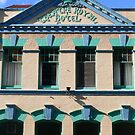 Teal Blue View: Theatre Royal Hotel, Hobart, Tasmania, Australia by linfranca