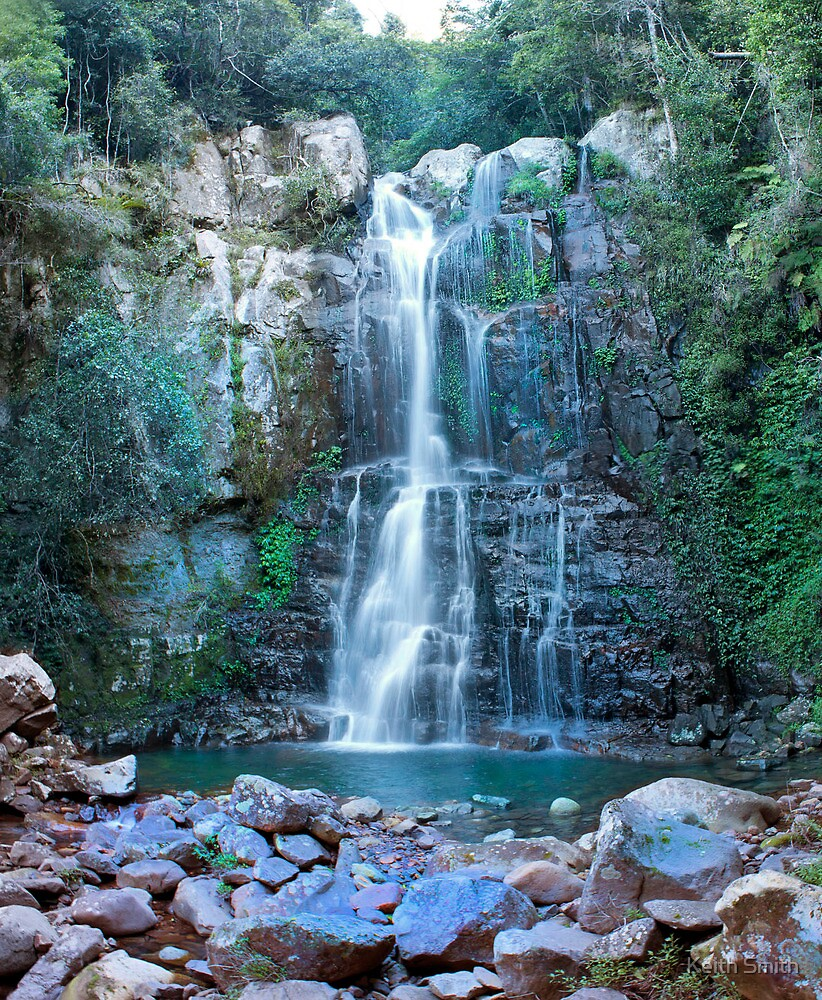 Waterfall in National Park NSW by Keith Smith