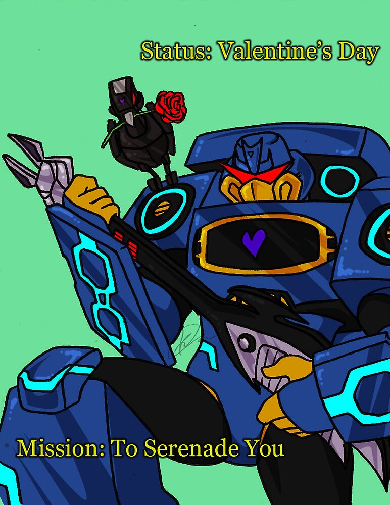 Valentine Soundwave by Khuahaul