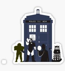 Doctor Who Villians  Sticker