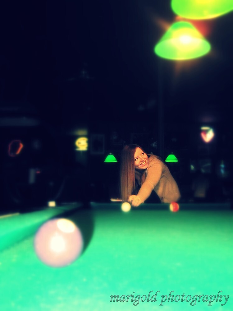 Billiards with a Smile by LaurelMuldowney