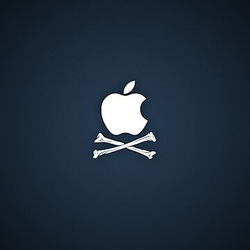 Apple logo hazard by BrandonDanis