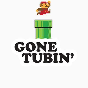Mario Gone Tubin' by ctlart